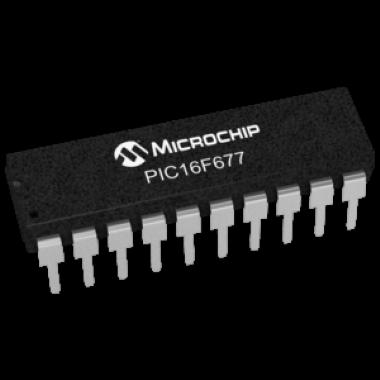 MICROCONTROLADOR PIC16F677-I/P