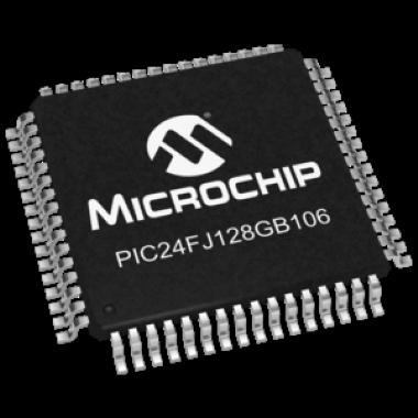 MICROCONTROLADOR PIC24FJ128GB106-I/PT