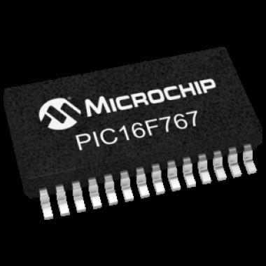 MICROCONTROLADOR PIC16F767-I/SS
