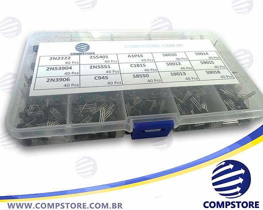 Kit de Transistores (600 Peças)