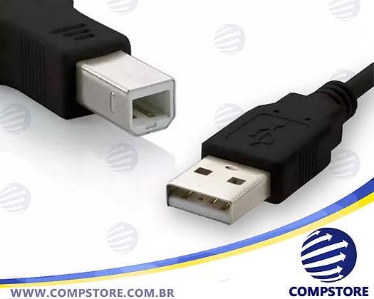 CABO IMPRESSORA USB-A M X USB-B M 2.0 1,8M