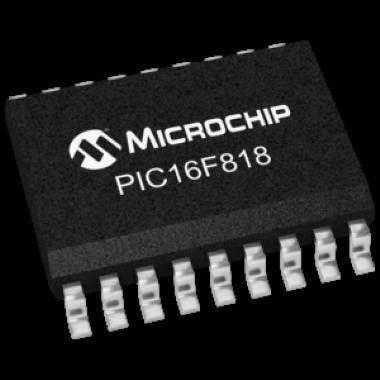 MICROCONTROLADOR PIC16F818-I/SO (RÉGUA C/42 PEÇAS)