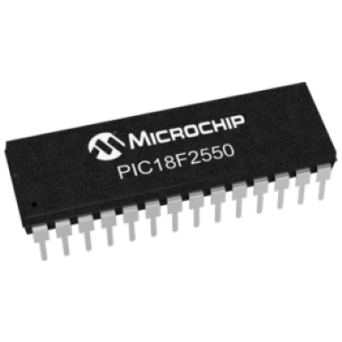 MICROCONTROLADOR PIC18F2550-I/SP