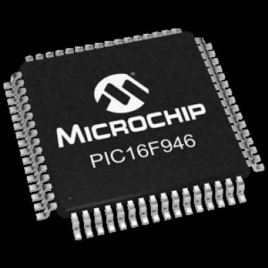 MICROCONTROLADOR PIC16F946-I/PT