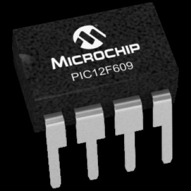 MICROCONTROLADOR PIC12F609-I/P