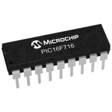 MICROCONTROLADOR PIC16F716-I/P