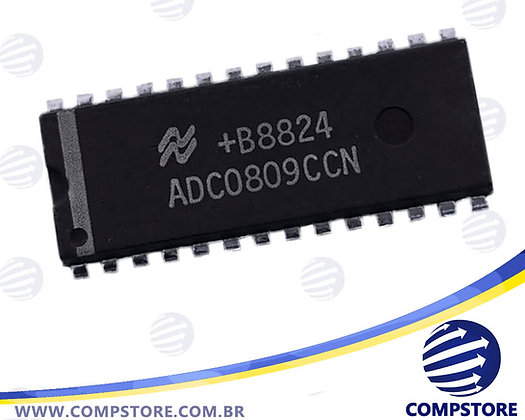 Circuito Integrado-CI ADC0809