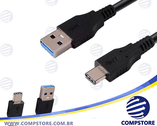 CABO USB 3.1 TIPO C M X USB-A M 3.0 1M