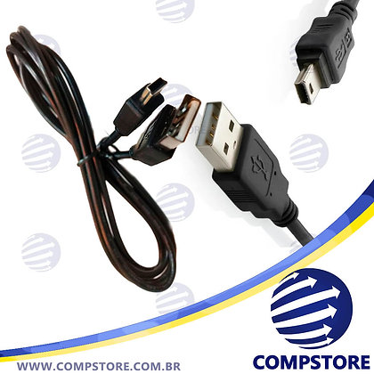 Cabo USB mini - A Macho 1,8Mts