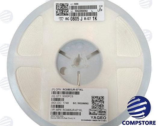 Resistor SMD 1K 0805 5%