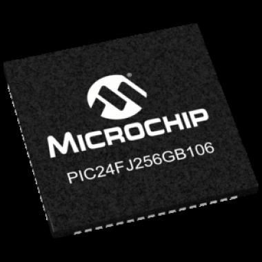 MICROCONTROLADOR SMD PIC24FJ256GB106T-I/MR - TQFN-64