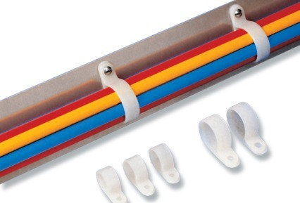 Abraçadeira P2 branco P-clip