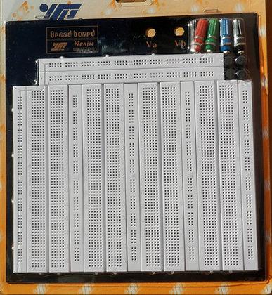 Placa De Protoboard 3260pts Furos