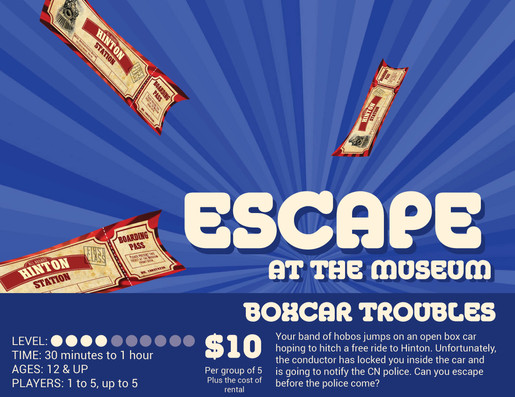 Escape at the museum-Box Car Troubles.jp