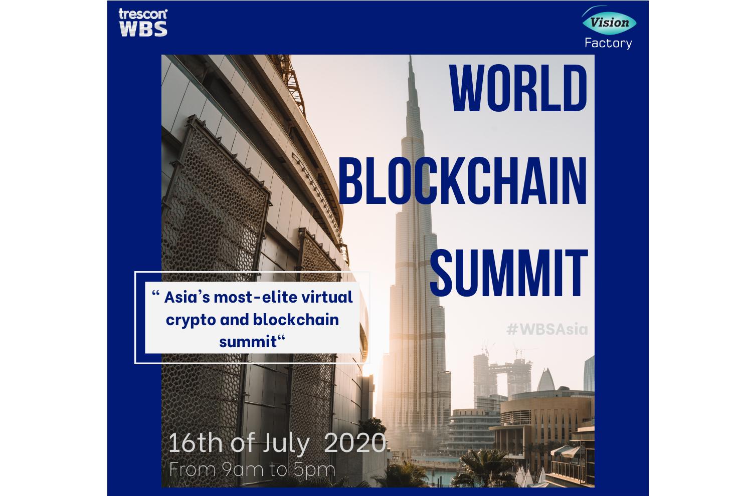 World Blockchain Summit zugeschnitten