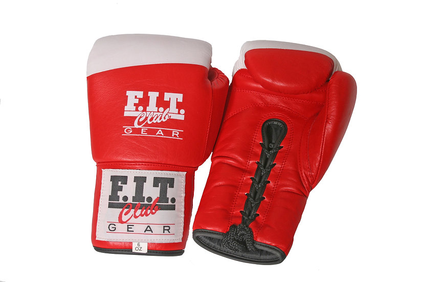 Laced Sparring Gloves