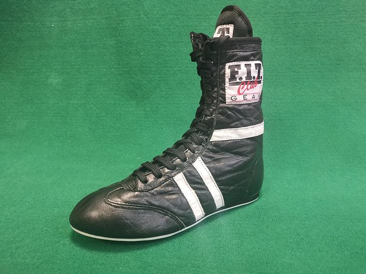 Black & White Boxing Boot
