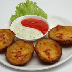 Loaded Tuna Potato Skins