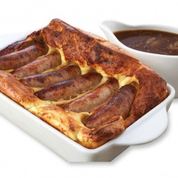 Sausage & Squash Toad-in-the-hole