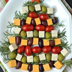 Christmas Tree Snack Platter