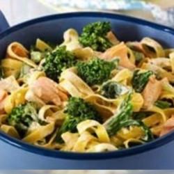 Broccoli and Fish Pasta