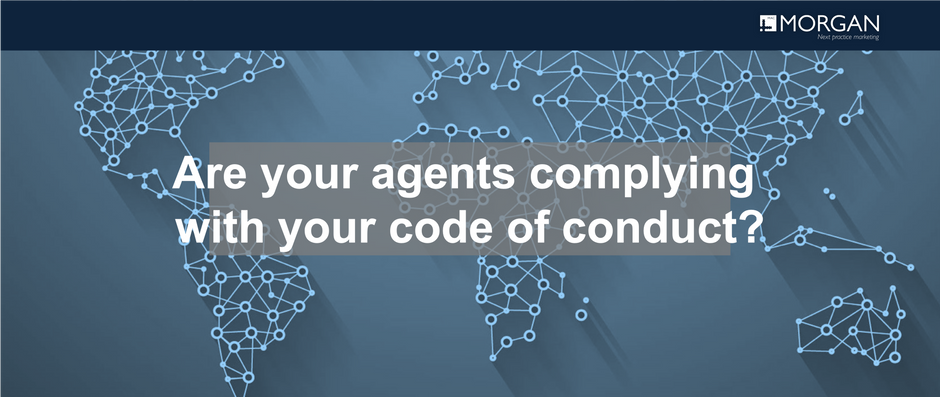 Are your agents complying with your code of conduct?