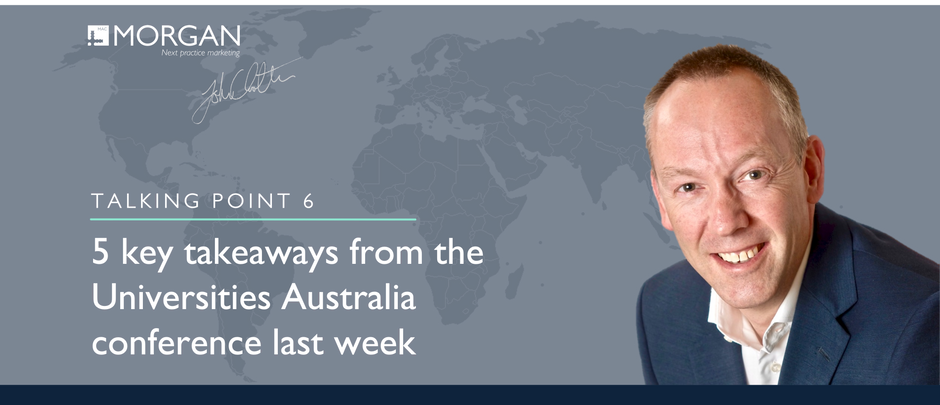 5 key takeaways from the Universities Australia conference last week