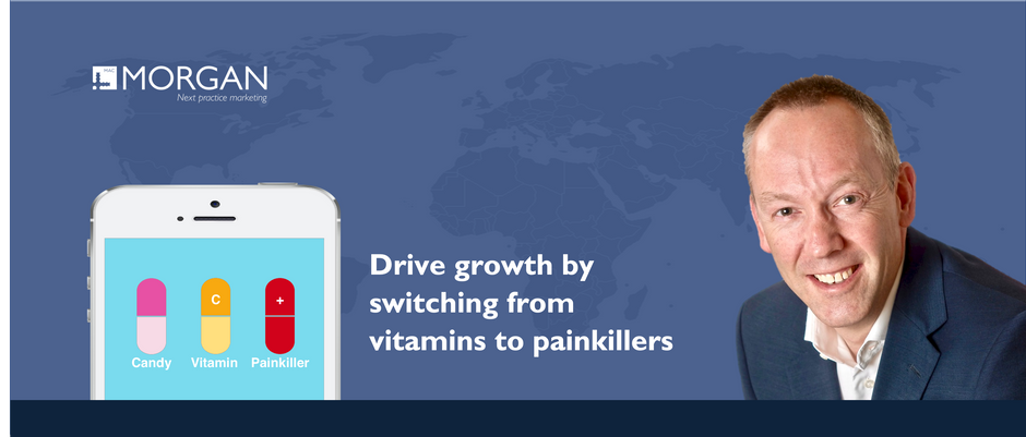 Drive growth by switching from vitamins to painkillers