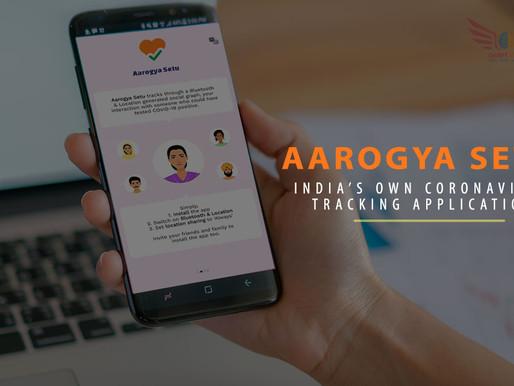 Aarogya Setu-The corona virus Tracking app by India!!!