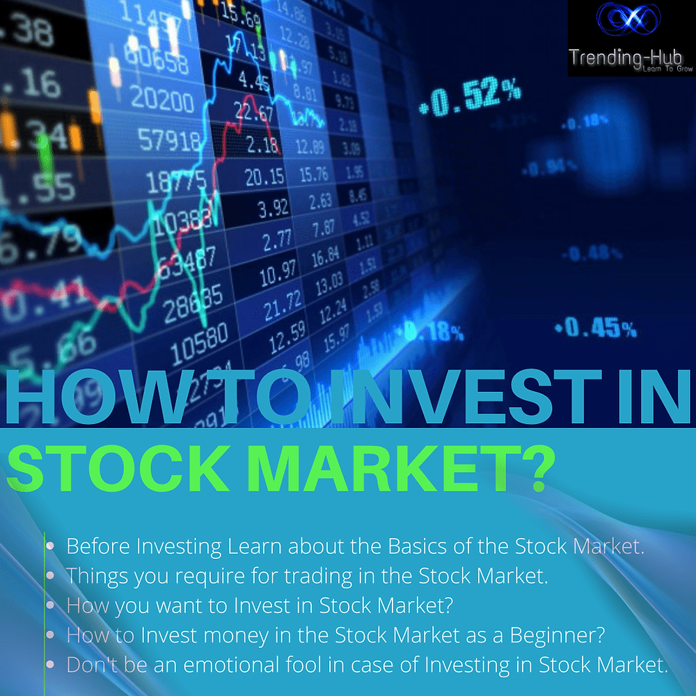 Learn to Invest in Stock Market, Invest in Stock as a Beginner, Stock Market