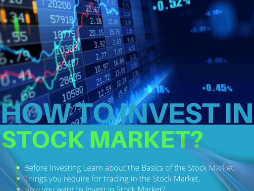 How to Invest in Stock Market as  Beginners?