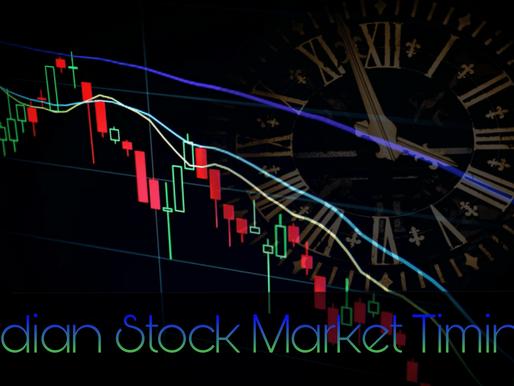 Indian Stock Market Timing