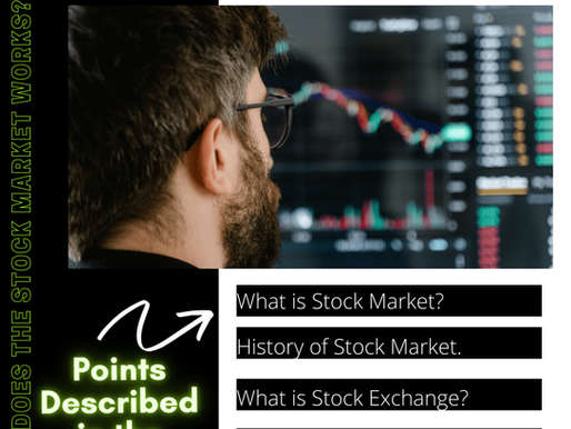 Stock Market: Learn About Stock Market How it works?