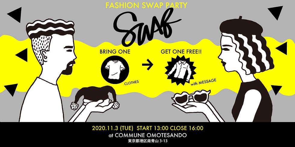 Fashion Swap Party 「SWAQ」at COMMUNE Omotesando