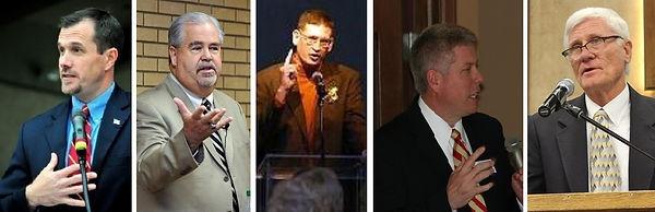 Jud Damon, Bruce Parker, Rob Miller and Rick Sanders