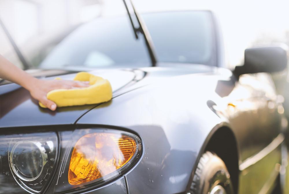 cuidando do carro