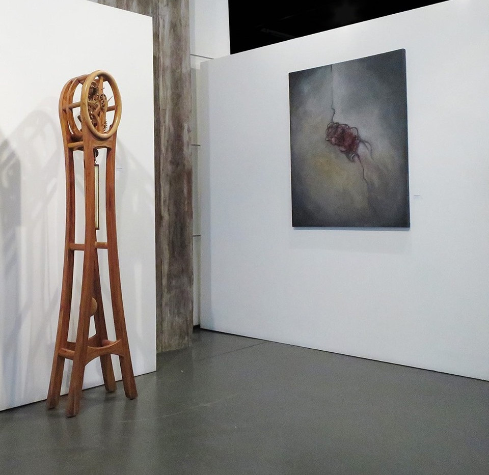 """A Pull Within"" on show at the New Zealand Academy of Fine Art"