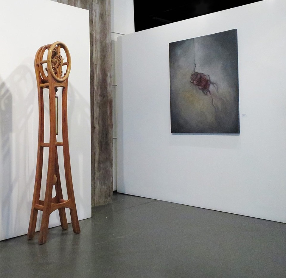 """""""A Pull Within"""" on show at the New Zealand Academy of Fine Art"""