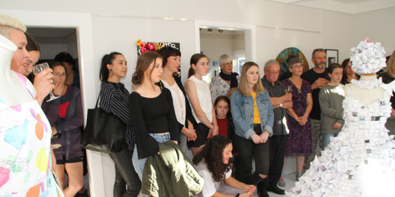 Opening of 'Girl Power' Exhibition