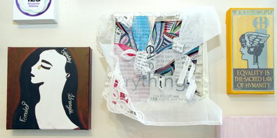 Detail of Collaborative Artwork
