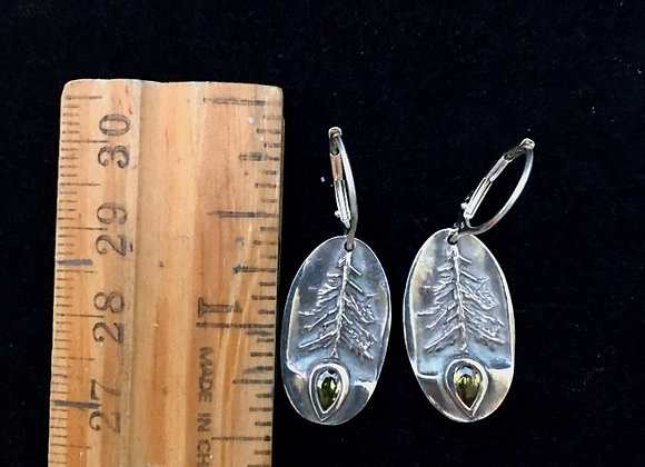 From the seed Shinrin earrings