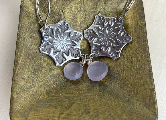 Snowflakes and Chalcedony
