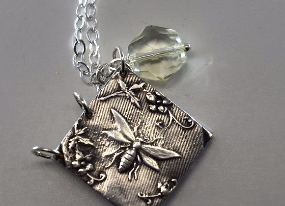 Bee Kind Intention Pendant