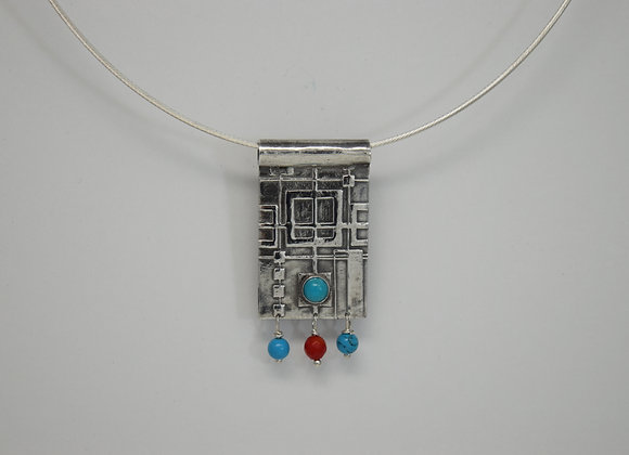 Kachina Inspired necklace