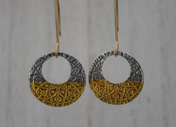 Norse knot earrings
