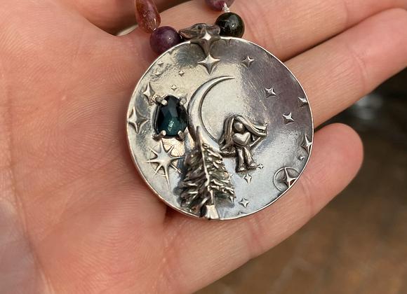 Catching Moonbeams in a Jar Pendant