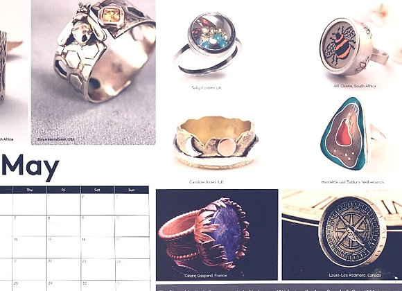 Ring of the Month Calendar 2020