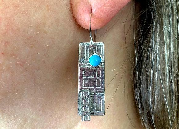 Kachina inspired Earrings