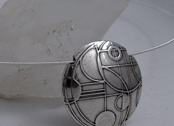 NeoGeo Lentil necklace