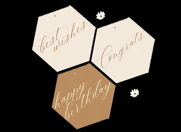 Hexagon Tags